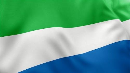 Sierra Leone Flagge
