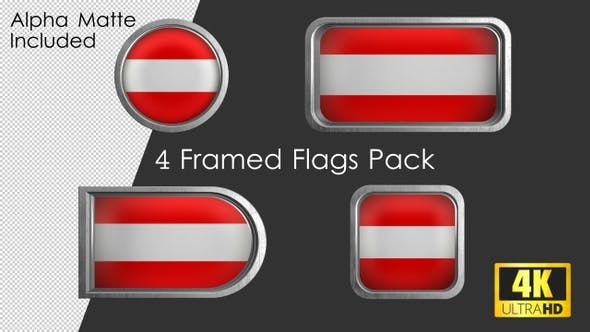 Thumbnail for Framed Austria Flag Pack