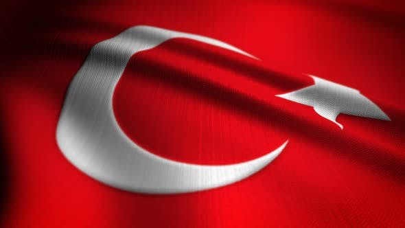 Thumbnail for Turkey Flag Seamless Loop