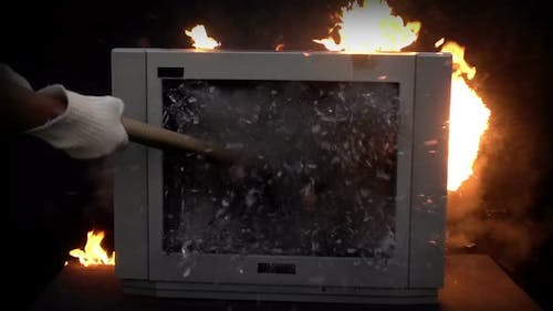 Splitting the TV with a Sledge Hammer