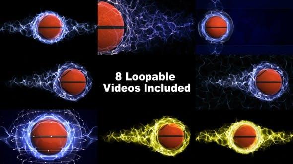 Thumbnail for BasketBall Mega Package (8 Videos)