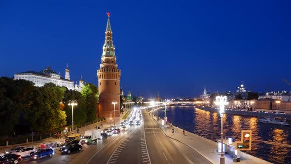 Thumbnail for Night Timelapse of Moscow Kremlin