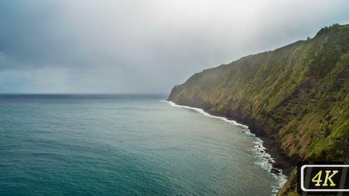 Atlantic's Coastline on Azores Islands