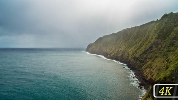 Thumbnail for Atlantic's Coastline on Azores Islands