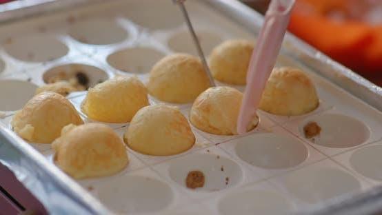 Thumbnail for Cooking takoyaki at home