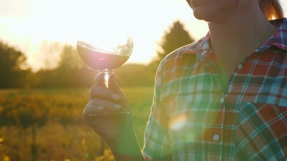 Thumbnail for Tasting Wine at Sunset