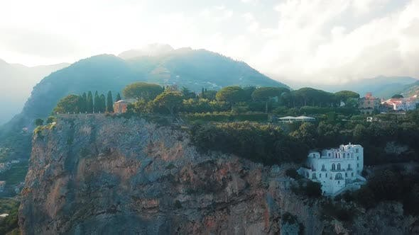 Thumbnail for Ravello Aerial, Villa Cimbrone, Amalfi Coast