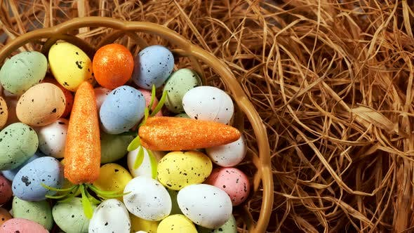 Thumbnail for Colorful Traditional Celebration Easter Paschal Eggs 40