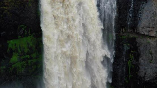 Thumbnail for Im Anschluss an Wasserfall Wasserfall Cascading Down Nahaufnahme An Palouse Falls