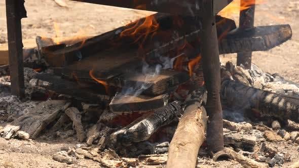 Thumbnail for Smoldering fire