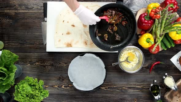 Food Preparation, Burrito