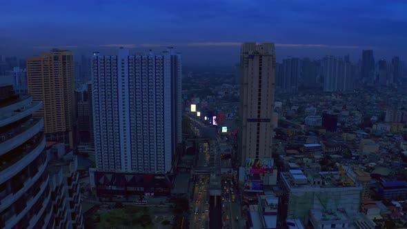 Thumbnail for Makati City Skyline and Modern Buildings Business District of Metro Manila. Jule 2019 - Manila