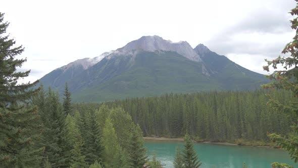 Thumbnail for Mountain peaks, Banff National Park