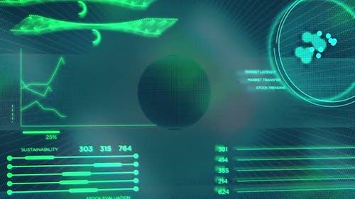 Company Data Charts and Financial Info