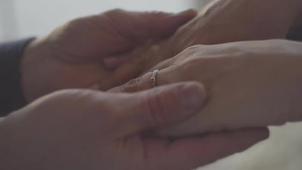Thumbnail for Hands of a Mature Couple