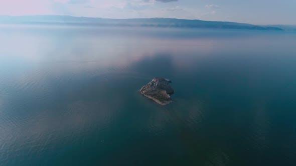 Thumbnail for An Island with Cormorants on Lake Baikal