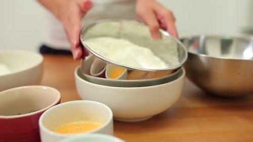 Prepare baking at home