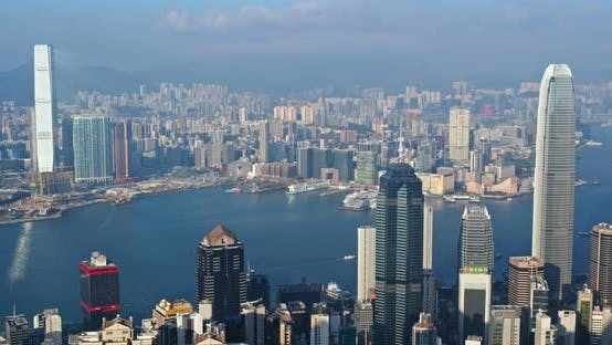 Thumbnail for Hong Kong city skyline