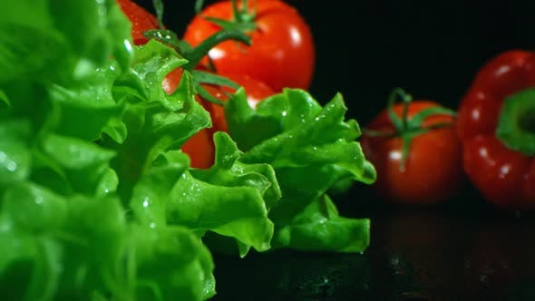 Ingredients For Healthy Vegetable Salad