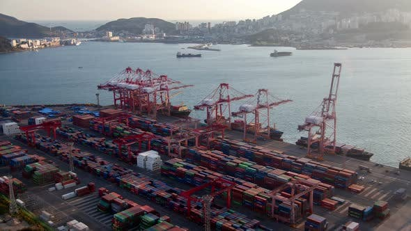 Thumbnail for Infrastructure Interchange Busan River Port Korea