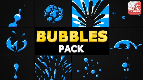 Bubbles Pack | Motion Graphics