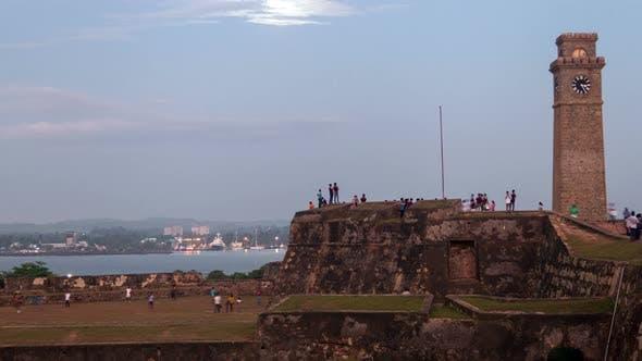 Thumbnail for Galle Fort Evening, Sri Lanka Timelapse
