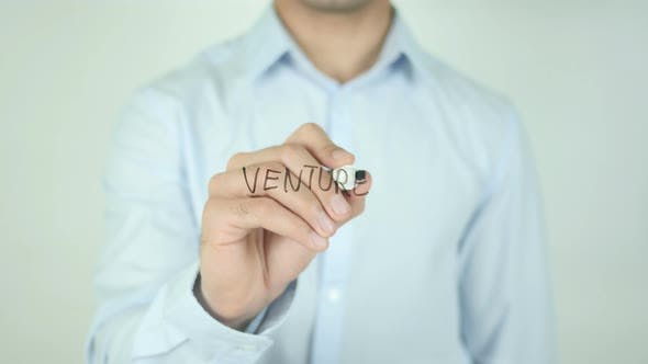 Thumbnail for Venture, Writing On Transparent Screen