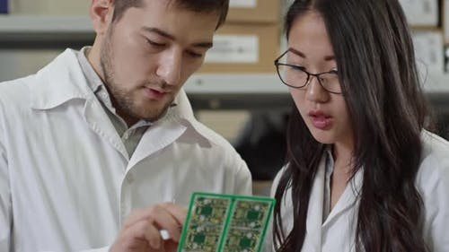 Checking Quality of Printed Circuit Board