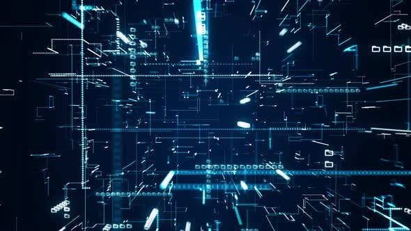 Digital Data Information Connect