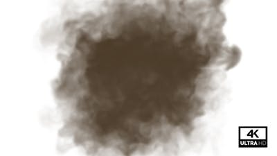 Explosion Of Dust