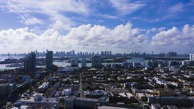 Miami on Sunny Day