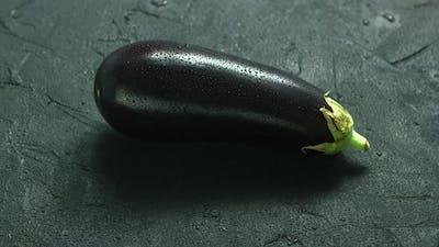 Wet Single Eggplant