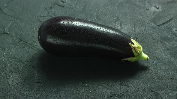 Cover Image for Wet Single Eggplant