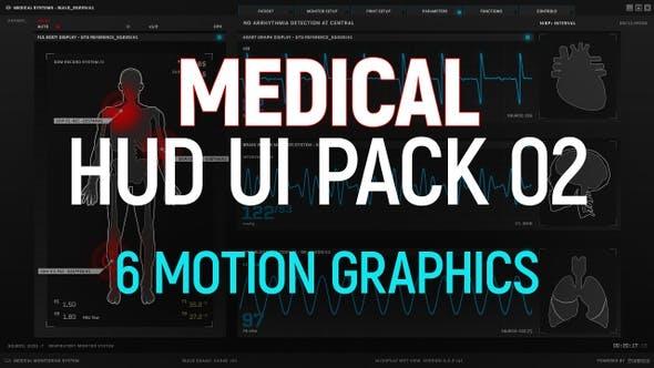 Medical HUD UI Pack 02