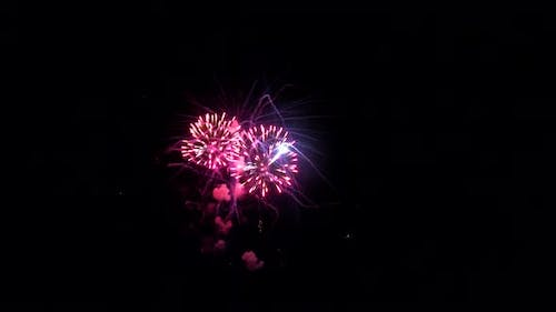 4Th July Fireworks Display on with Show Independence Day