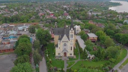 Catholic Church Aerial
