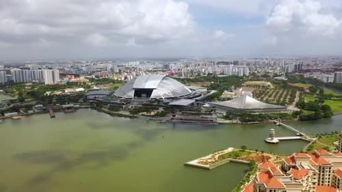 the Singapore National Stadium