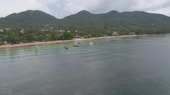 Thumbnail for Thailand Beach with many Boats