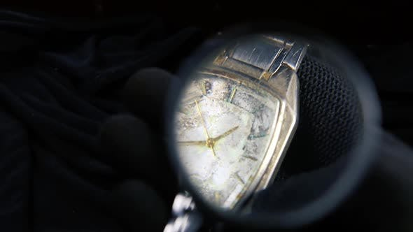 Thumbnail for Old Broken Wristwatch