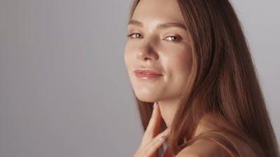 Female Skincare Facial Treatment Woman Face Skin