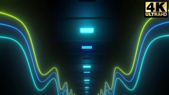 Thumbnail for 4k Neon Shape Corridor Pack