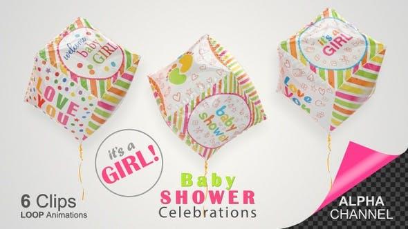 Baby Shower Celebration - Baby Girls