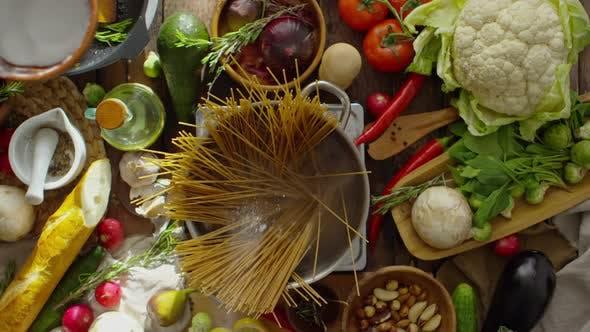 Thumbnail for Salting Spaghetti