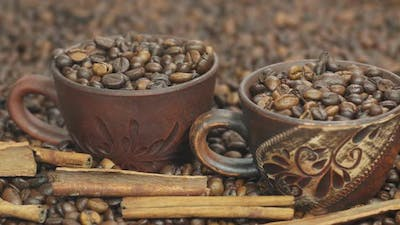 Coffee Beans Cups