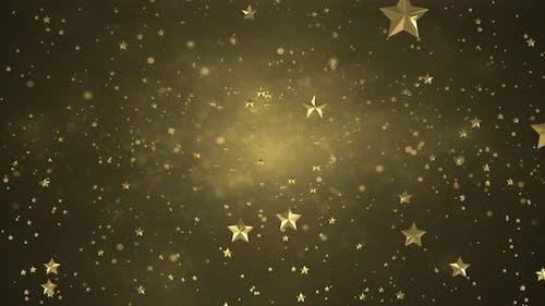 Star Background Zoom In 4k Loop