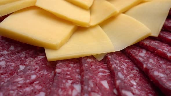 Cover Image for Rotating Cheese And Sausage