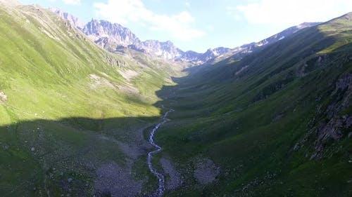 Alpine Tundra Valley
