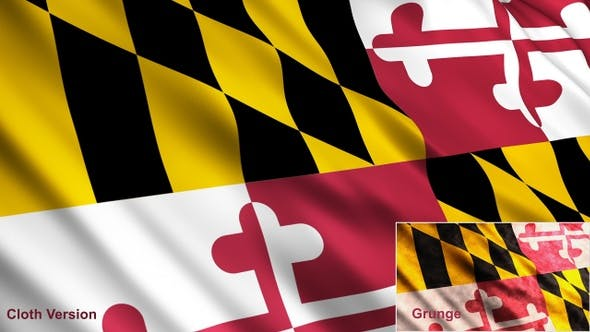 Thumbnail for Maryland State Flags