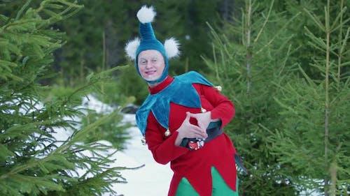 A happy elf
