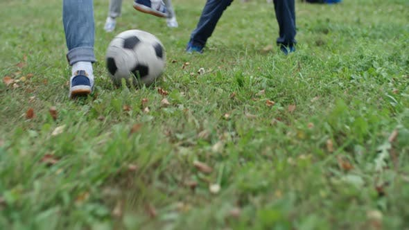 Thumbnail for Boys Playing Football